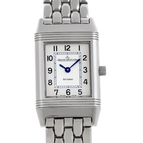 Photo of Jaeger LeCoultre Reverso Ladies 260.8.47 Steel Quartz Watch