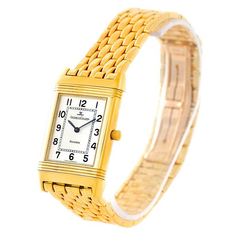7df82d17d808 7291 Jaeger LeCoultre Reverso Mens 18K Yellow Gold Watch 250.1.86  SwissWatchExpo ...