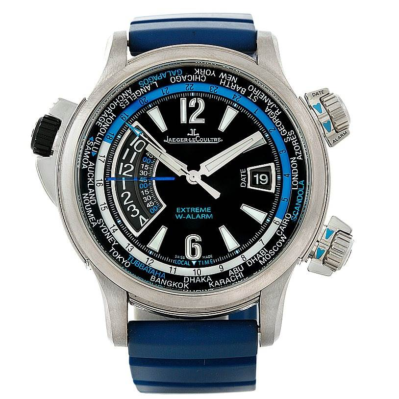 Jaeger Lecoultre Master Compressor Titanium Limited Watch 150 T 42