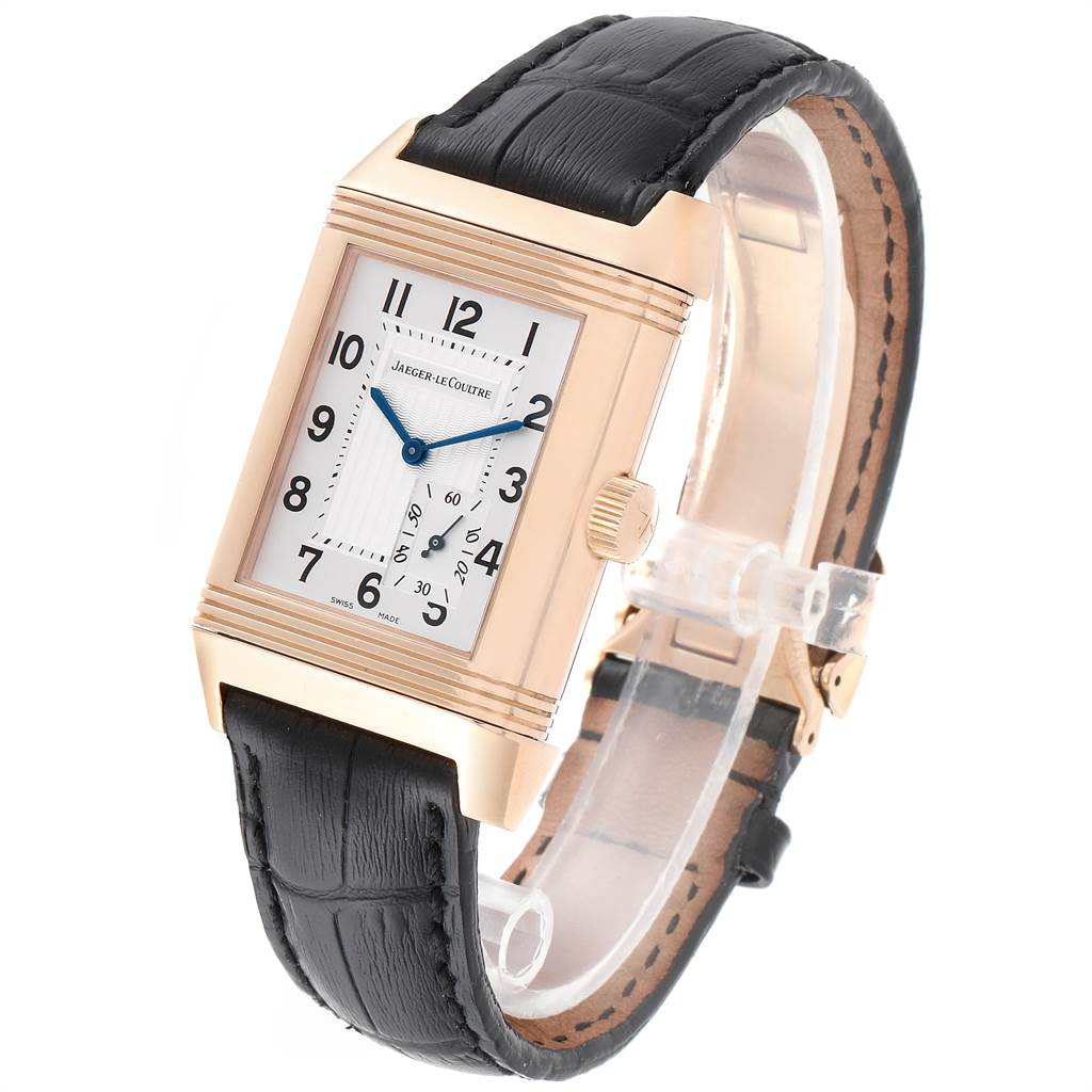 Jaeger LeCoultre Reverso Grande Reserve Rose Gold Watch 301.24.20 Box Papers SwissWatchExpo