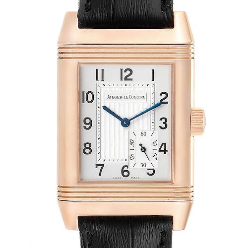 Photo of Jaeger LeCoultre Reverso Grande Reserve Rose Gold Watch 301.24.20 Box Papers