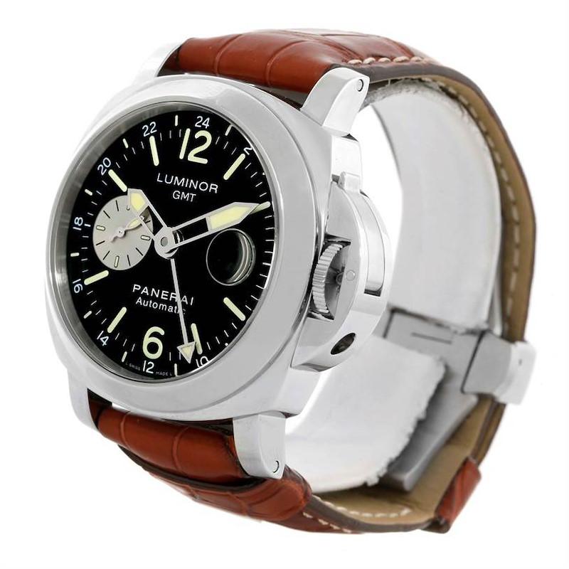 Panerai Luminor GMT Black Dial Automatic Mens Watch PAM00088 SwissWatchExpo