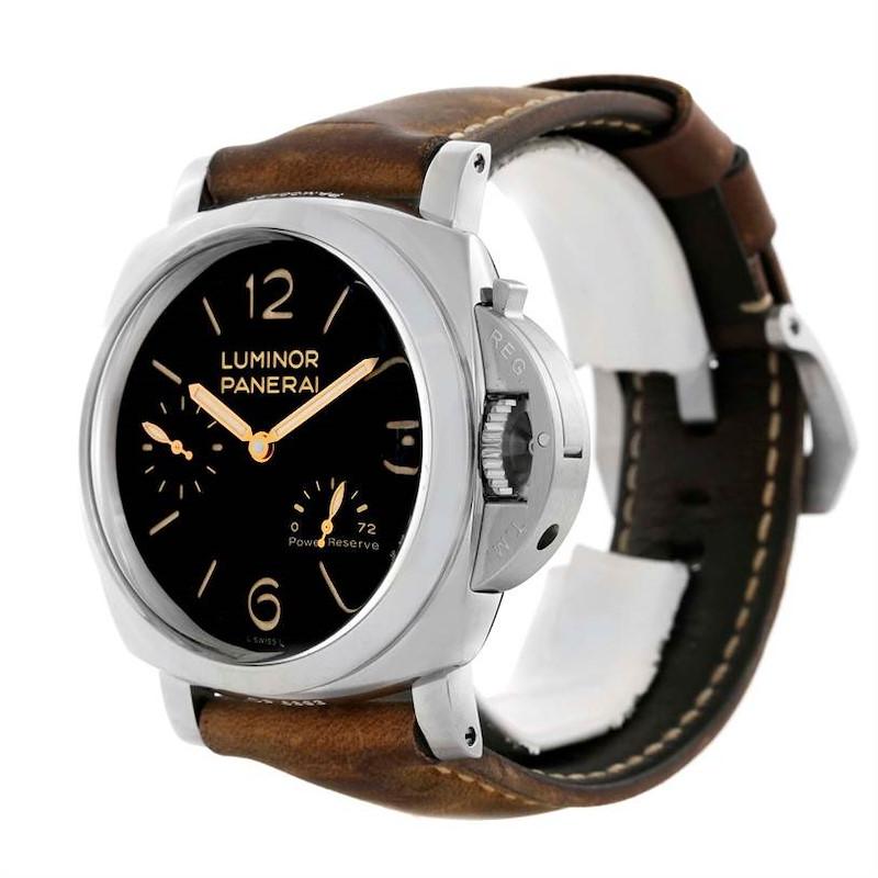 Panerai Luminor 1950 3 Days Acciaio 47mm Watch PAM00423 SwissWatchExpo