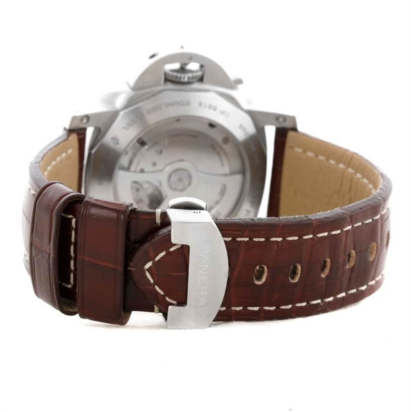 10846 Panerai Luminor Marina 1950 3 Days GMT 44mm Watch PAM347 PAM00347 SwissWatchExpo