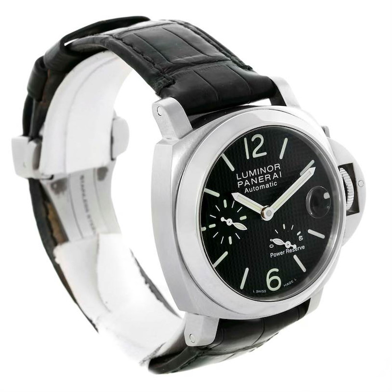 Panerai Luminor Power Reserve 40mm Watch PAM00241 PAM241 SwissWatchExpo