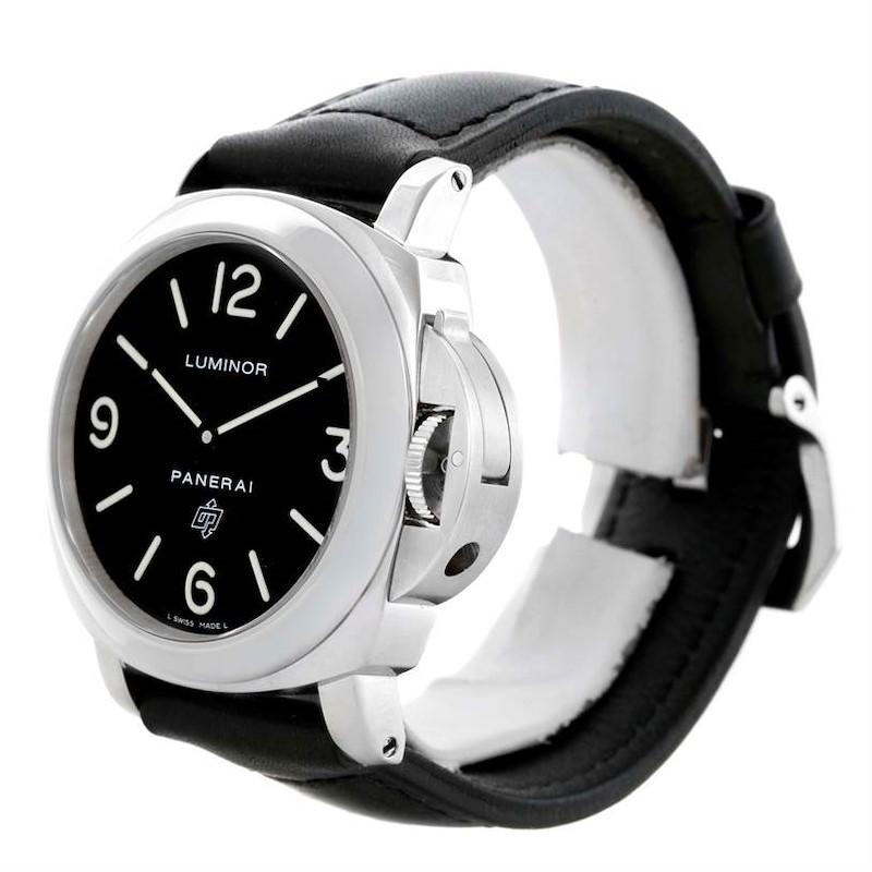 Panerai Luminor Base Logo 44mm Watch PAM000 PAM00000 SwissWatchExpo