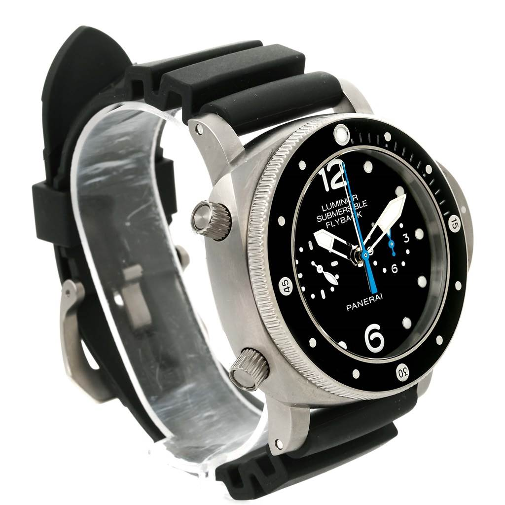 13324 Panerai Luminor Submersible 3 Days Chrono Flyback Watch PAM615 PAM00615 SwissWatchExpo