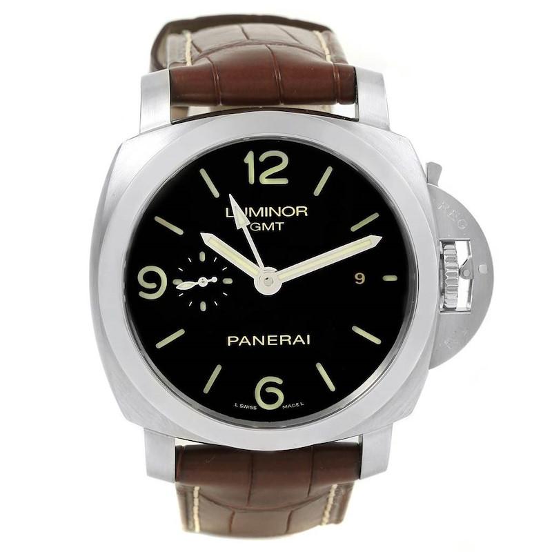 Panerai Luminor 1950 3 Days GMT 44mm Watch PAM00320 PAM320 SwissWatchExpo