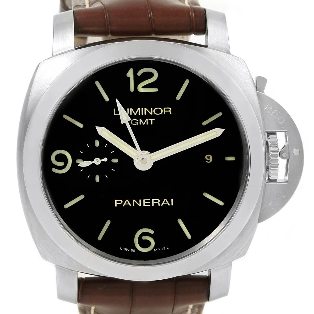 Panerai Luminor 1950 3 Days GMT 44mm Watch PAM00320 PAM320