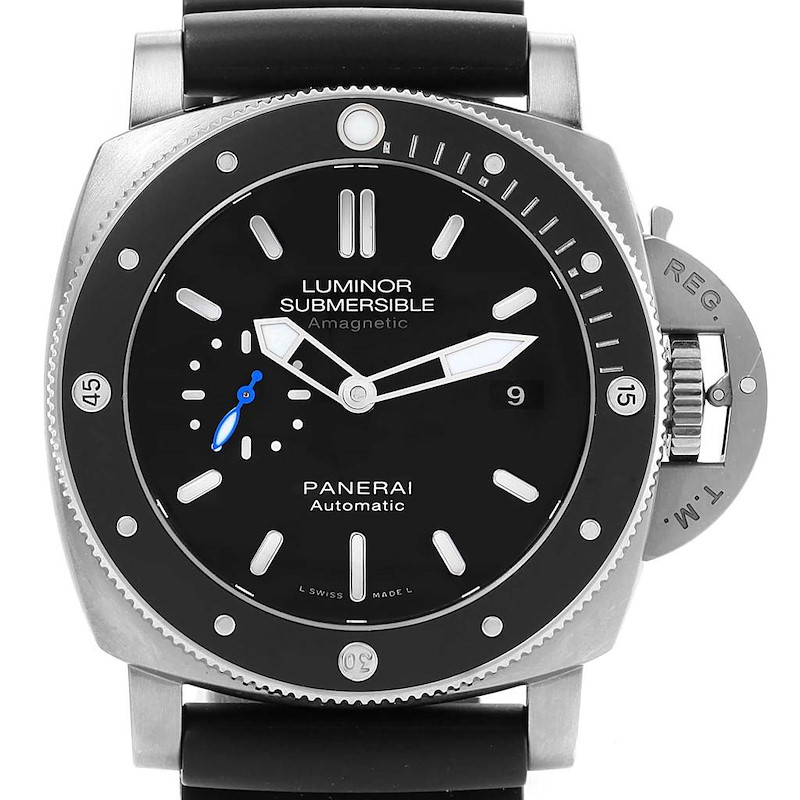 Panerai Luminor Submersible 1950 Amagnetic 3 Days Watch PAM01389 Titanio SwissWatchExpo