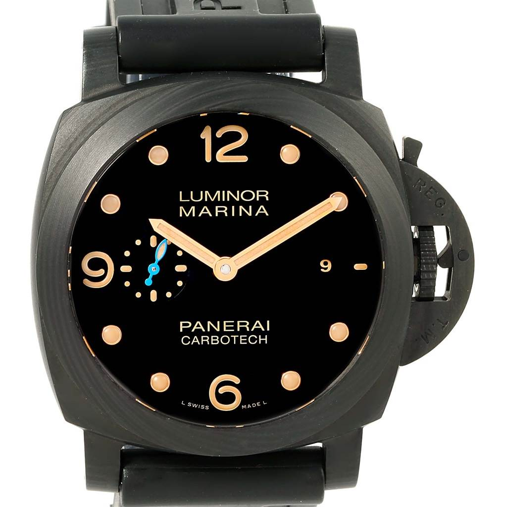 Panerai Luminor Marina 1950 44 carbotech Watch PAM00661 PAM661 Unworn