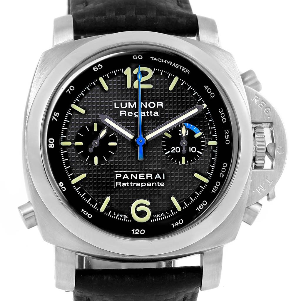 Panerai Luminor 1950 44mm Rattrapante Regatta LE Watch PAM00286