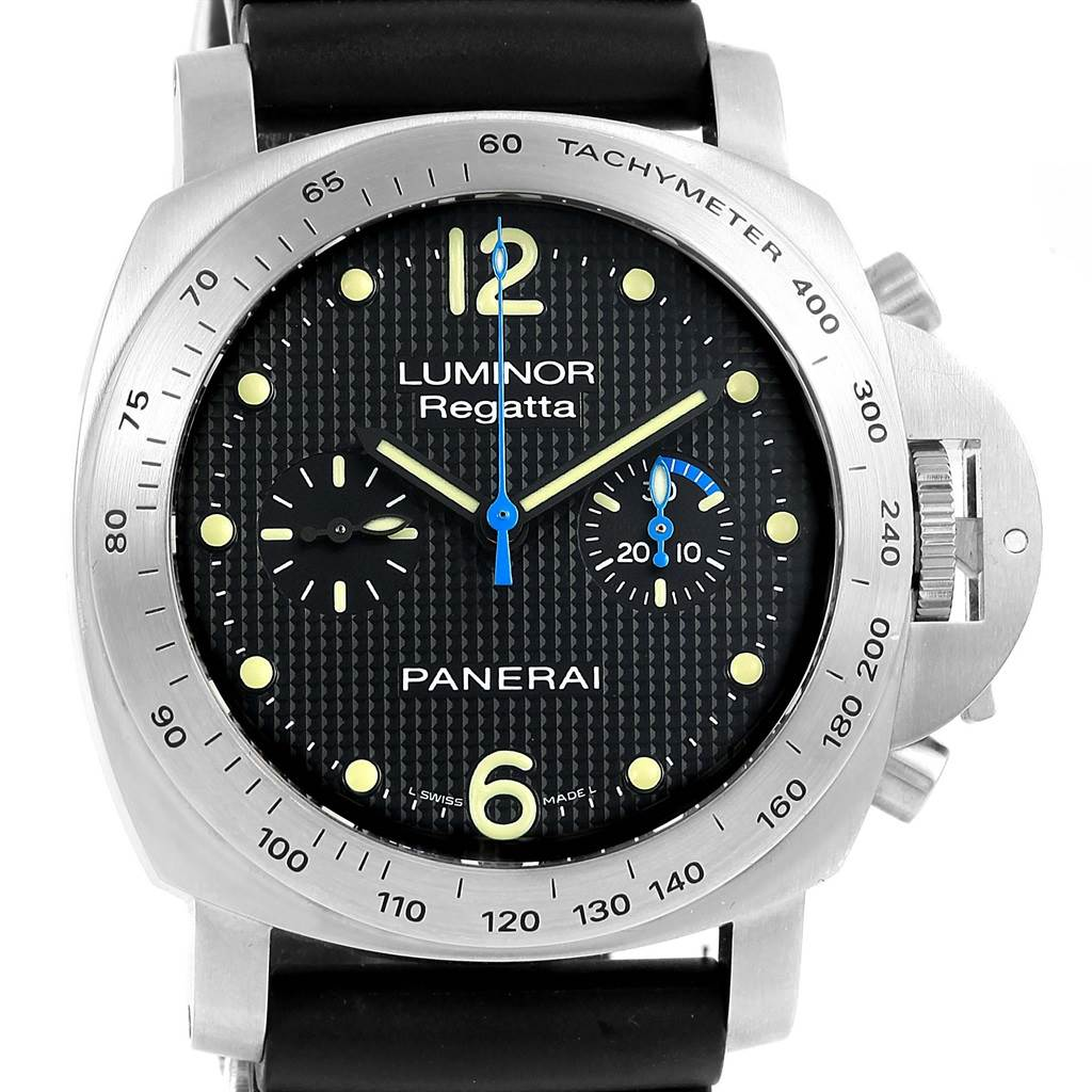 Panerai Luminor Regatta 44mm Chronograph Watch PAM00308 Pam308