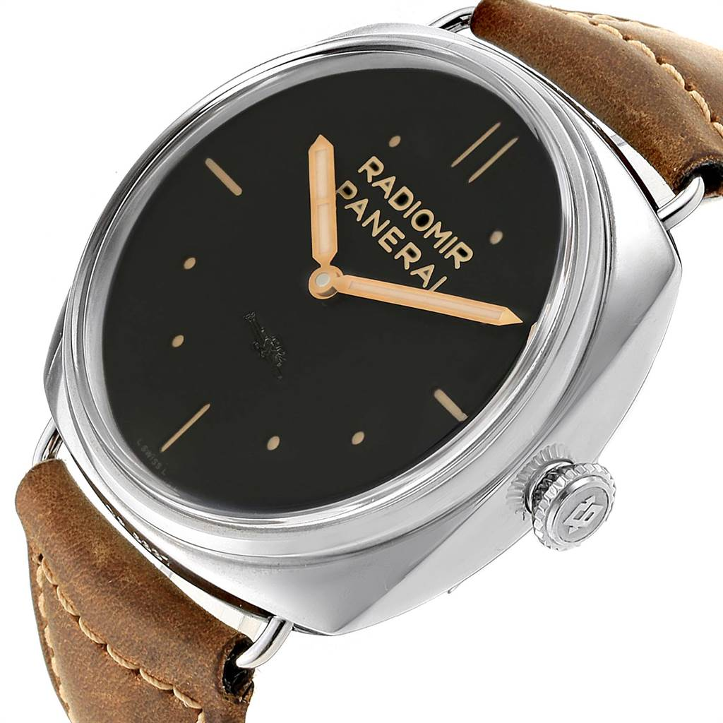 16789 Panerai Radiomir SLC Acciaio 47mm 3 Days Power Reserve Watch PAM00425 Box Papers SwissWatchExpo