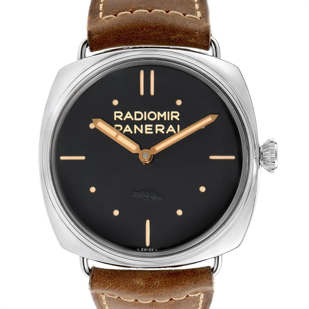 Panerai Radiomir SLC Acciaio 47mm 3 Days Power Reserve Watch PAM00425 Box Papers