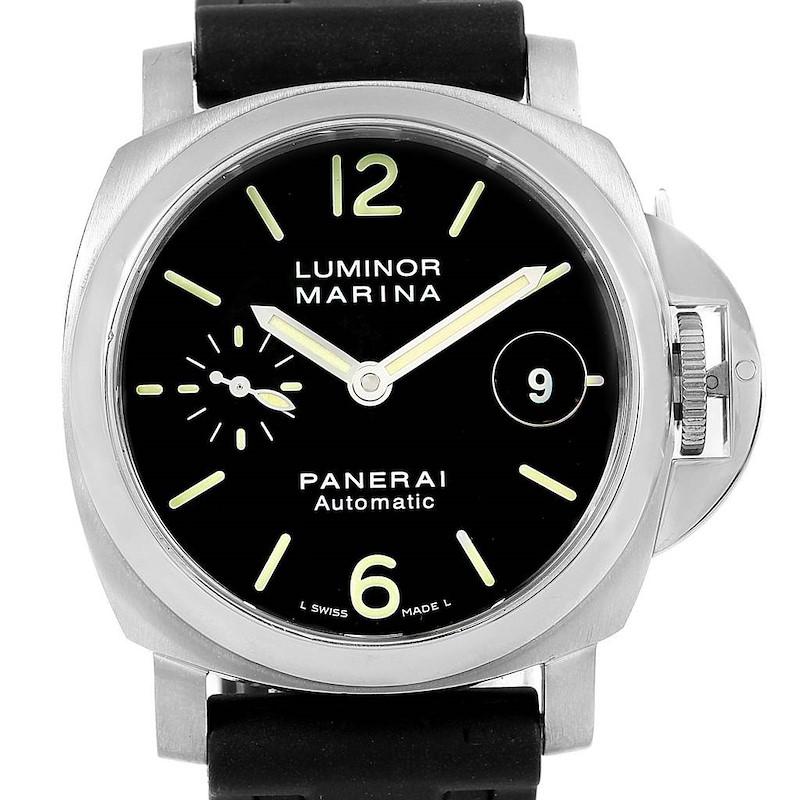 Panerai Luminor Marina Automatic 40mm Watch PAM048 PAM00048 SwissWatchExpo