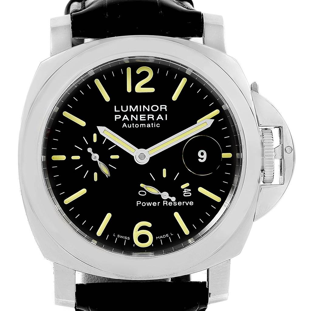 Panerai Luminor Power Reserve Automatic Mens Watch PAM00090 PAM090