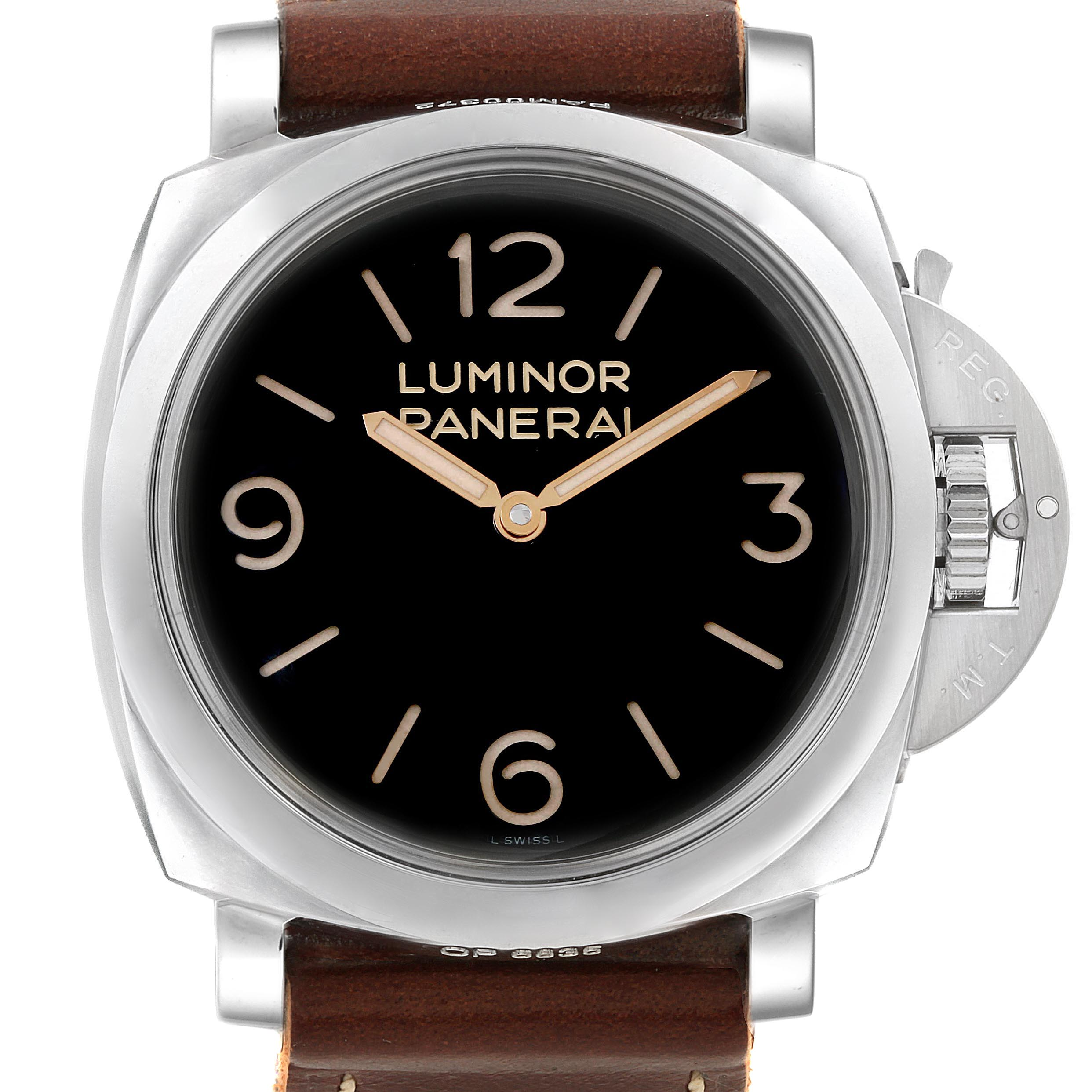 Panerai Luminor Marina 1950 Mens 47mm Watch PAM00372 PAM372 Unworn