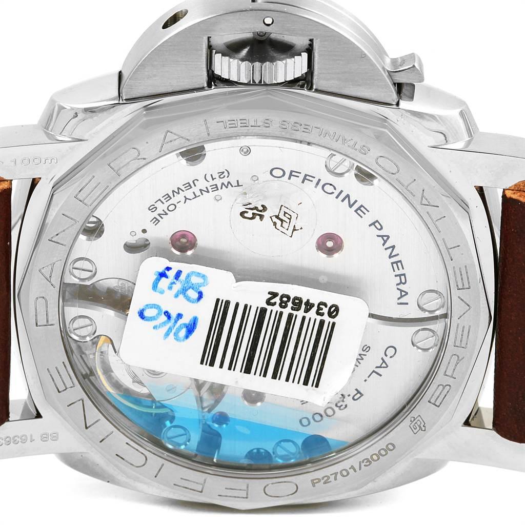 18247 Panerai Luminor Marina 1950 Mens 47mm Watch PAM00372 PAM372 Unworn SwissWatchExpo