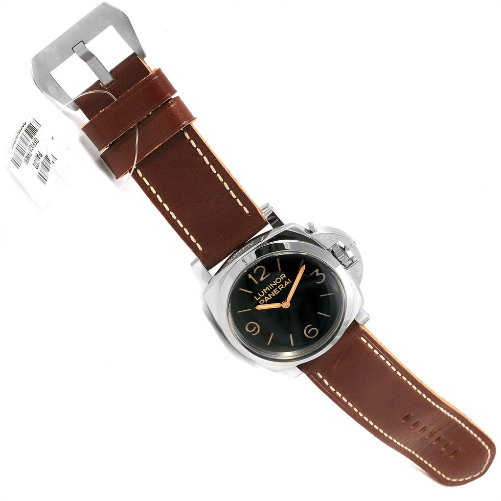 Panerai Luminor Marina 1950 Mens 47mm Watch PAM00372 PAM372 Unworn SwissWatchExpo