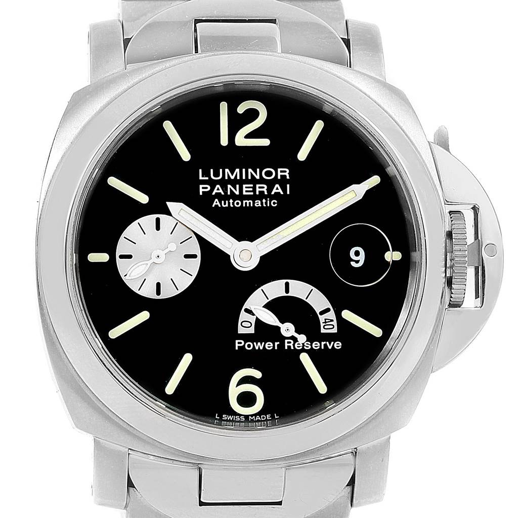 Panerai Luminor Marina Automatic Power Reserve 40mm Watch PAM126 PAM00126