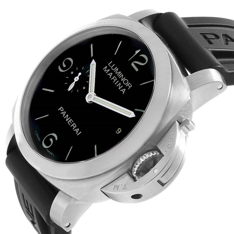 Panerai Luminor 1950 Marina Mens 44mm Watch PAM00312 PAM312 SwissWatchExpo