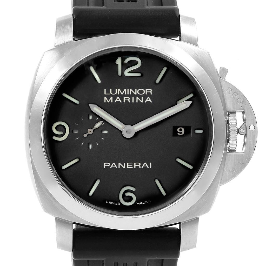18594 Panerai Luminor 1950 Marina Mens 44mm Watch PAM00312 PAM312 SwissWatchExpo