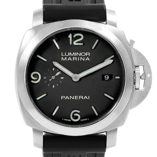 Photo of Panerai Luminor 1950 Marina Mens 44mm Watch PAM00312 Papers