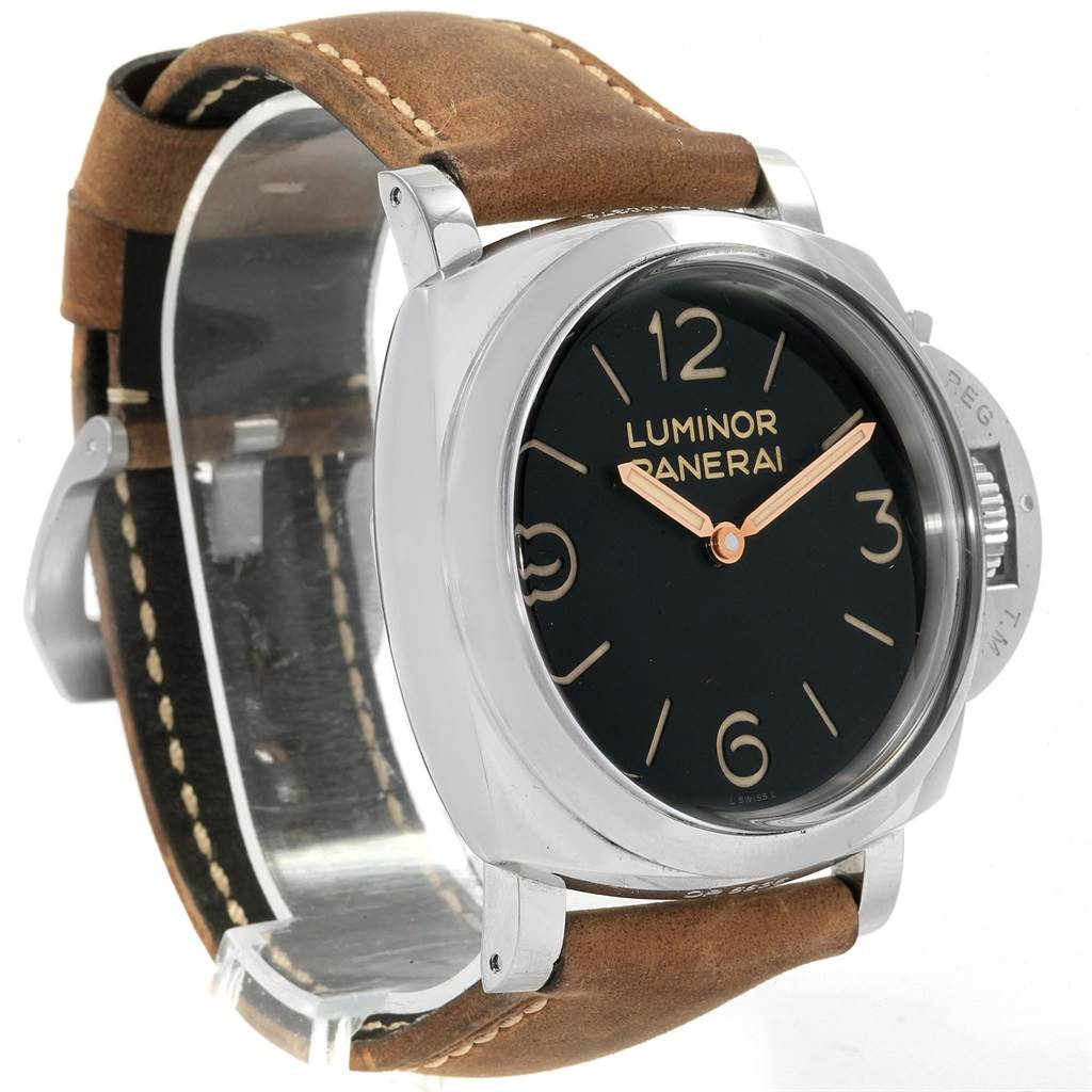 18050 Panerai Luminor Marina 1950 47mm Watch PAM00372 PAM372 Box Papers SwissWatchExpo