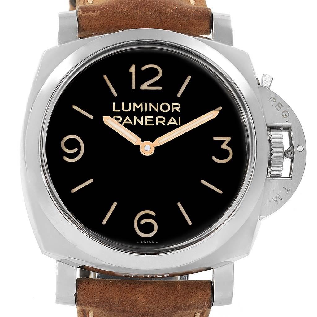 Panerai Luminor Marina 1950 47mm Watch PAM00372 PAM372 Box Papers