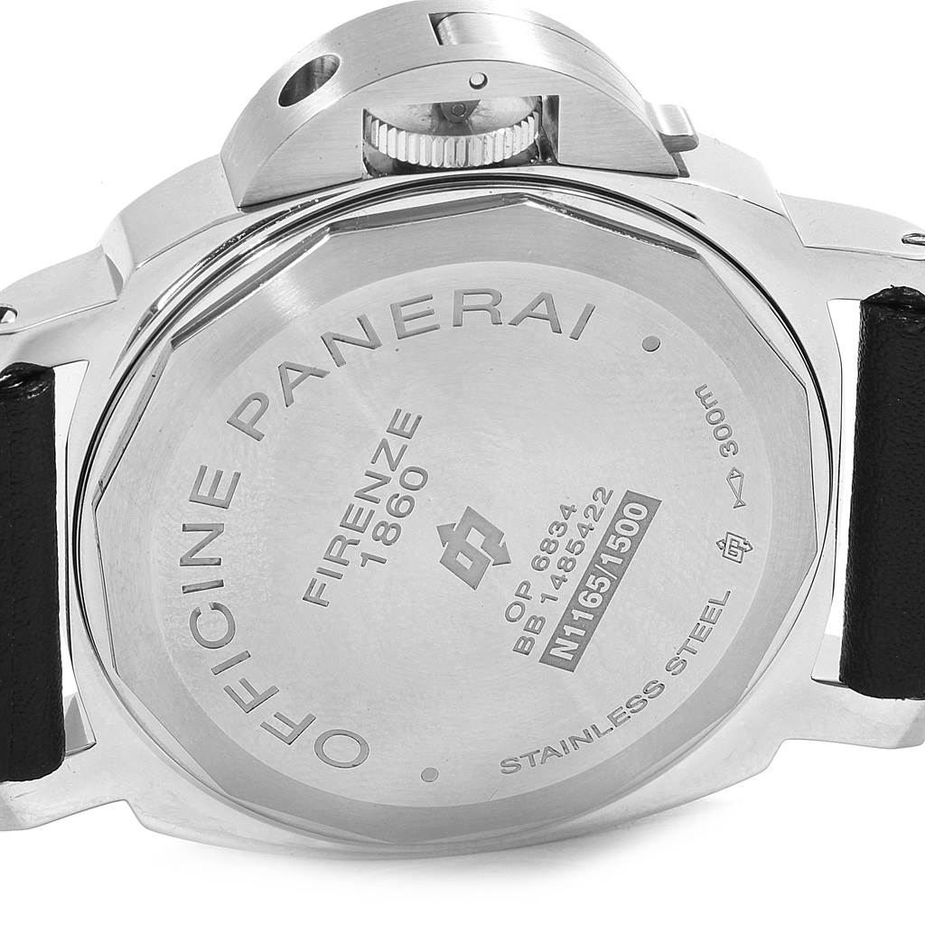 15720 Panerai Luminor Base Logo 44mm Steel Mens Watch PAM000 PAM00000 SwissWatchExpo