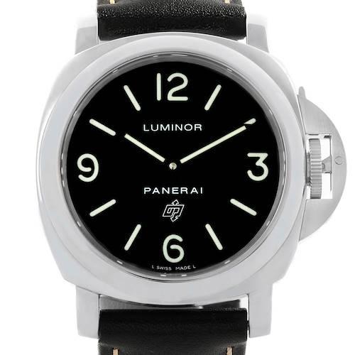 Photo of Panerai Luminor Base Logo 44mm Steel Mens Watch PAM000 PAM00000