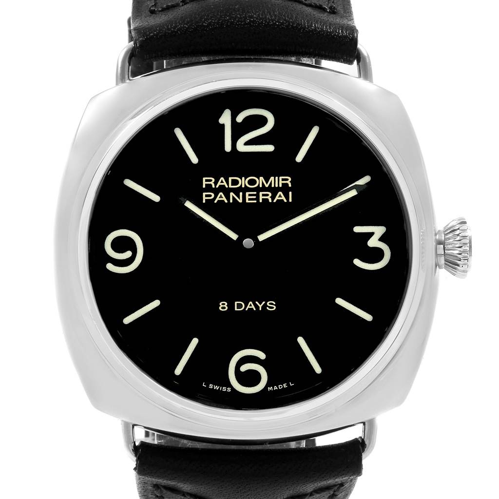 Panerai Radiomir 45mm 8 Days Mens Watch PAM610 PAM00610 Box Papers