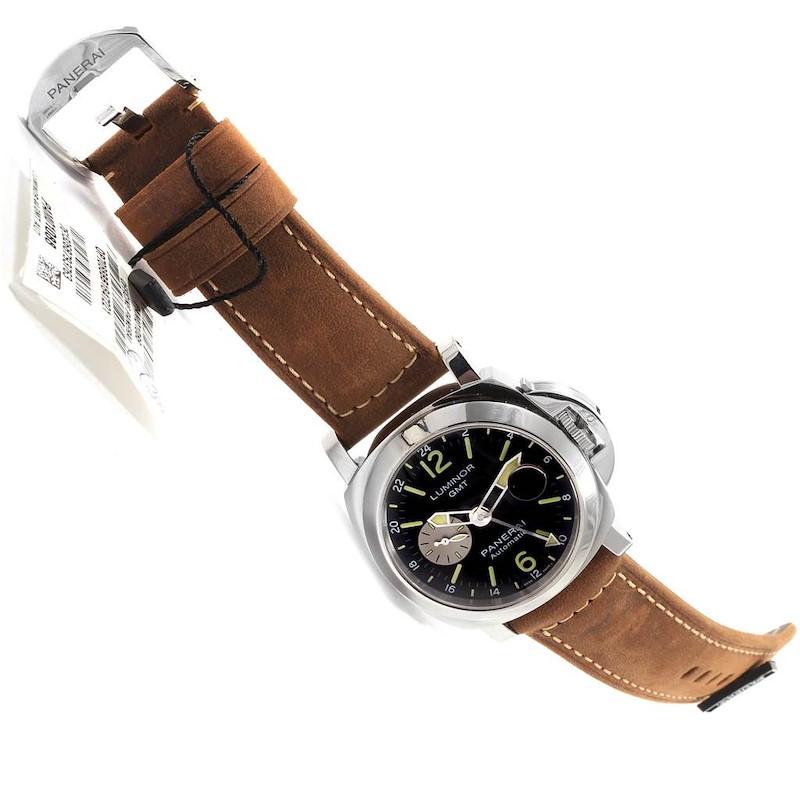 Panerai Luminor GMT Automatic Acciaio Watch PAM01088 Box Papers SwissWatchExpo