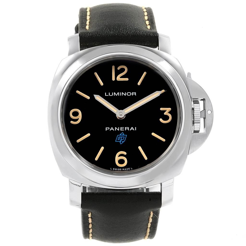 20031 Panerai Luminor Acciaio Logo Paneristi 15th Anniversary Watch PAM00634 SwissWatchExpo