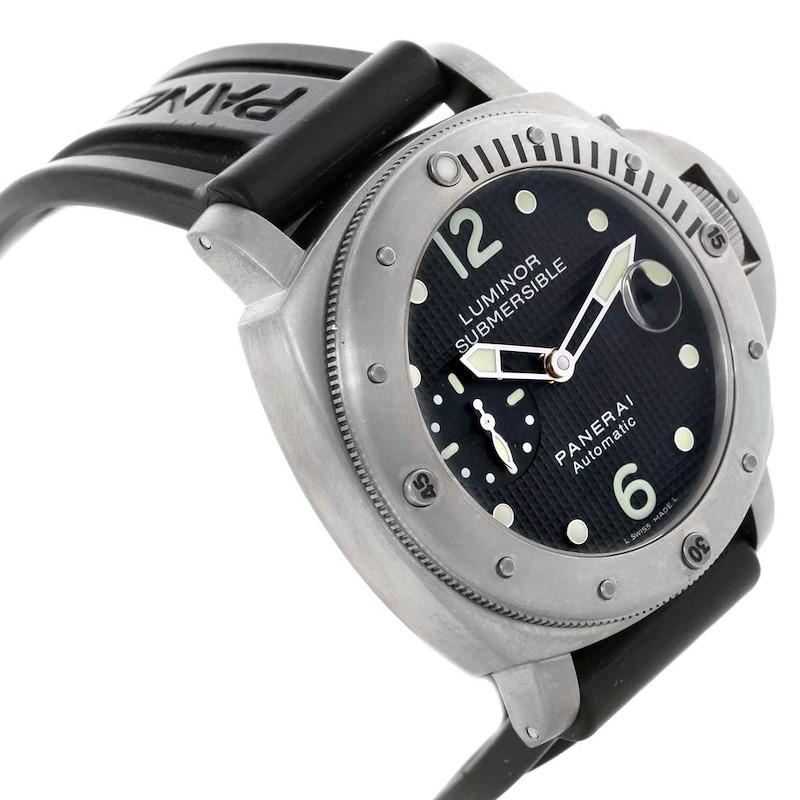 Panerai Luminor Submersible 44mm Mens Watch PAM025 PAM00025 SwissWatchExpo
