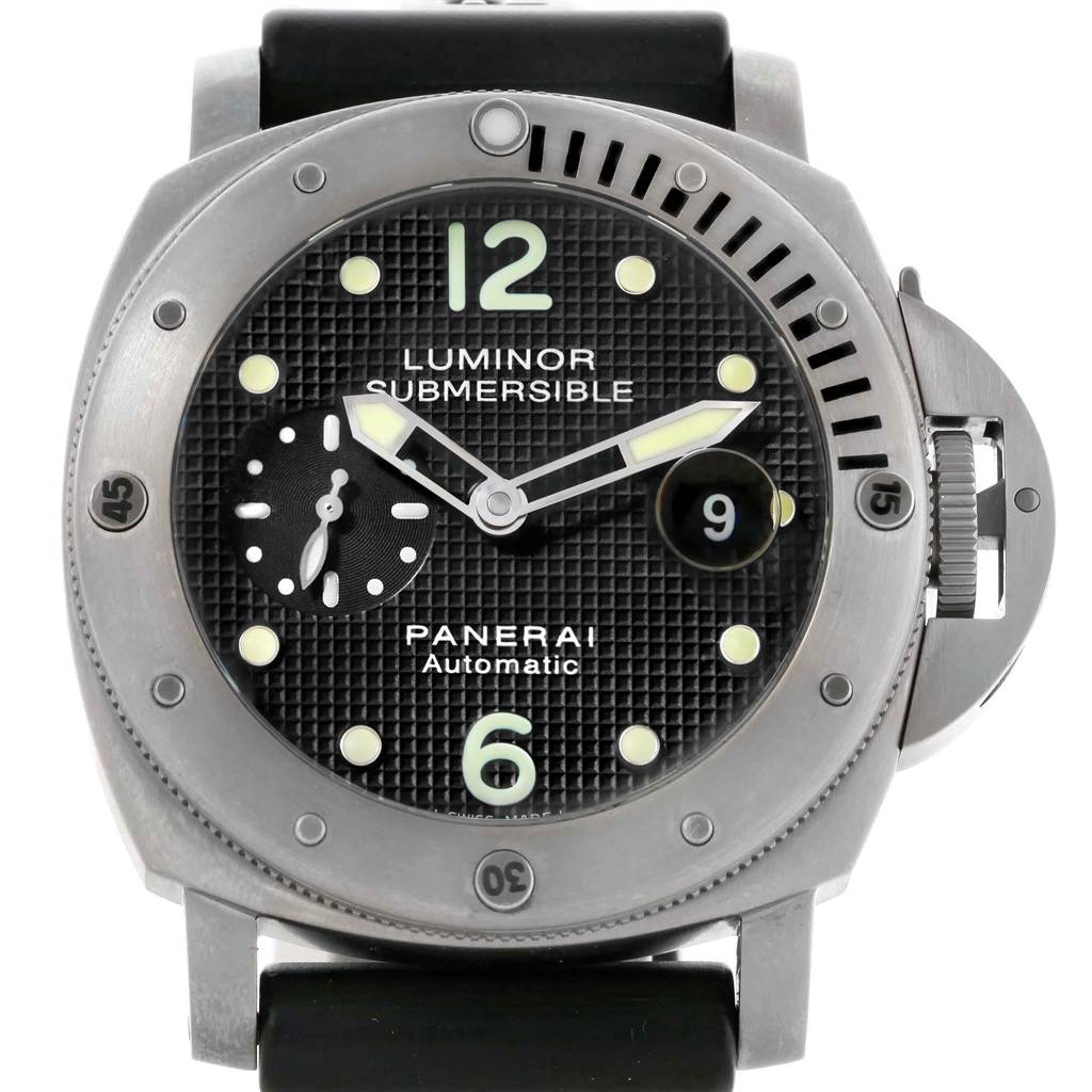 Panerai Luminor Submersible 44mm Mens Watch PAM025 PAM00025