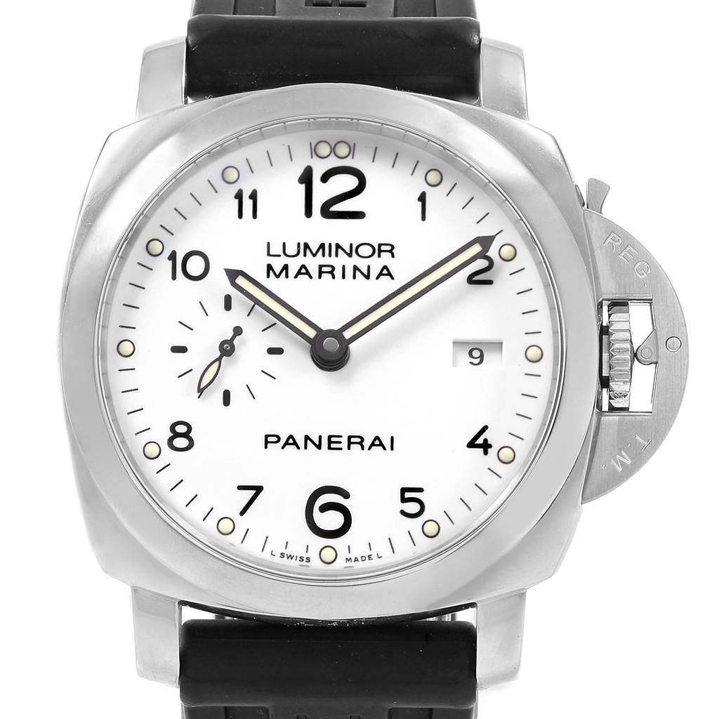 Panerai Luminor 1950 Acciaio 44mm 3 Days Power Reserve Watch PAM00499