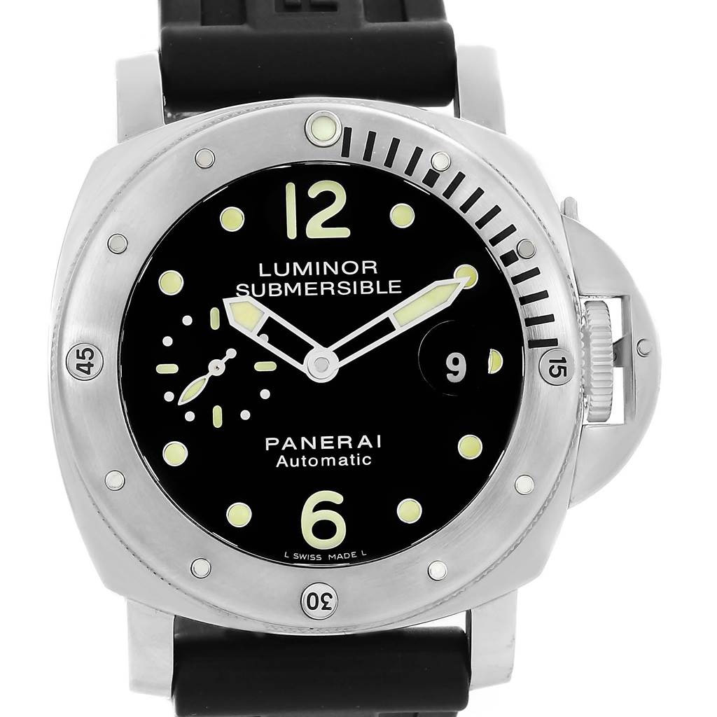Panerai Luminor Submersible 44mm Mens Watch PAM024 PAM00024