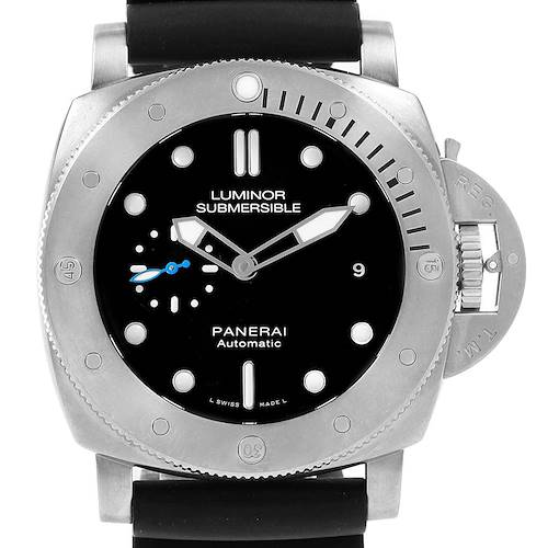 Photo of Panerai Submersible Titanio 1959 3 Days 47mm Mens Watch PAM01305