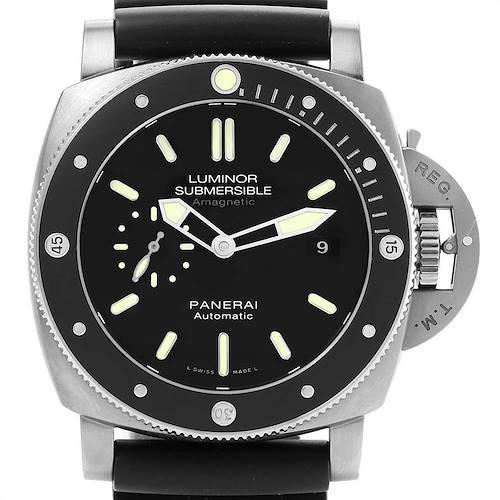 Photo of Panerai Luminor Submersible 1950 Titanium Amagnetic 3 Days Watch PAM00389