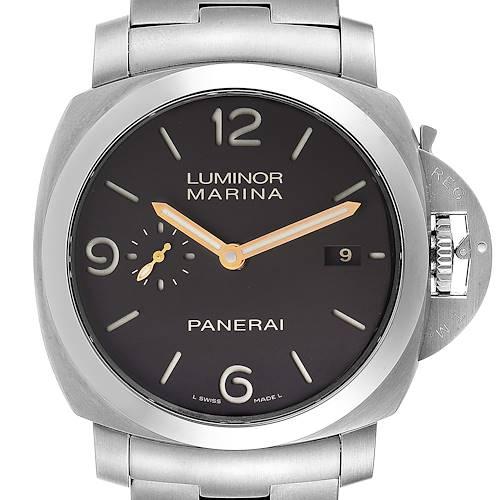 Photo of Panerai Luminor Marina 1950 3 Days Titanium 44mm Watch PAM00352