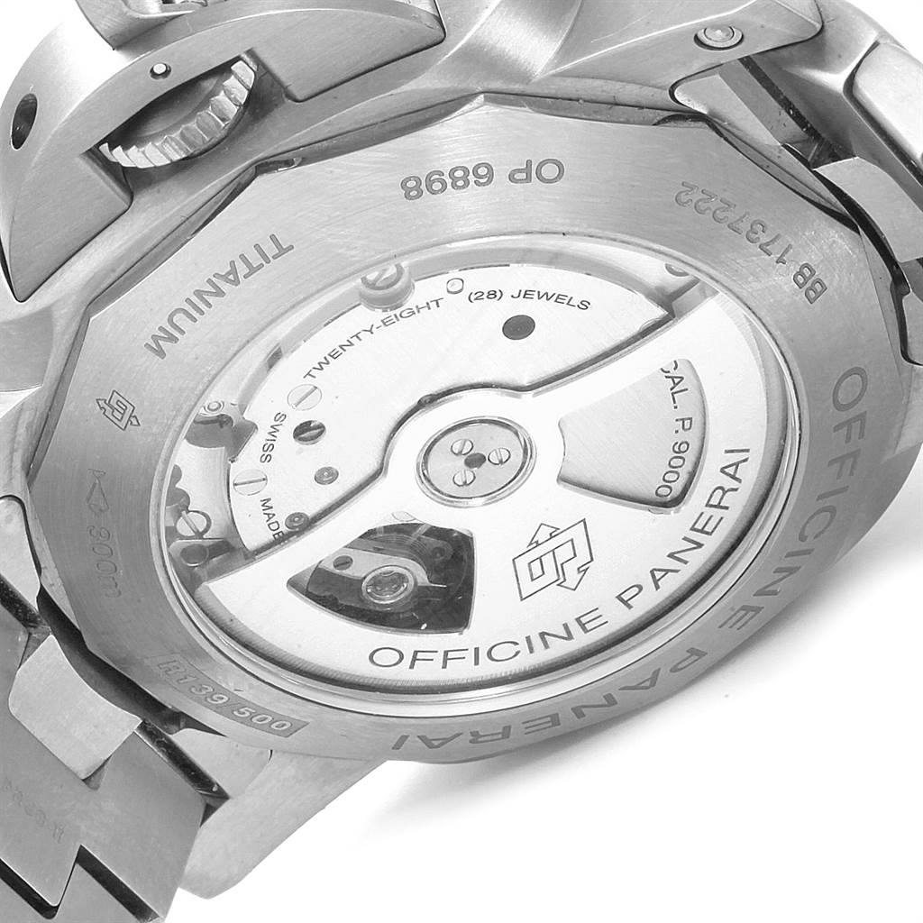 23162 Panerai Luminor Marina 1950 3 Days Titanium 44mm Watch PAM00352 SwissWatchExpo