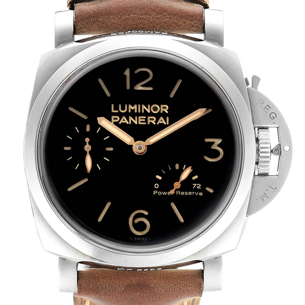 Panerai Luminor 1950 Acciaio 47mm 3 Days Power Reserve Watch PAM00423