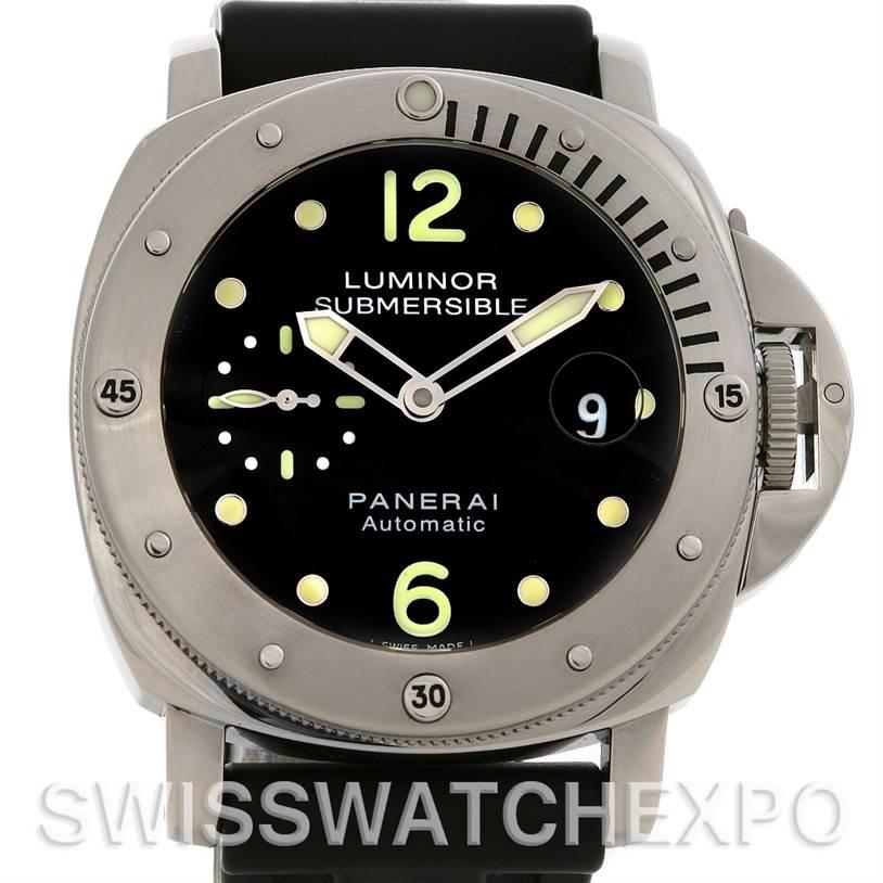 98aeedb7478 2603 Panerai Luminor Submersible PAM 024 watch SwissWatchExpo