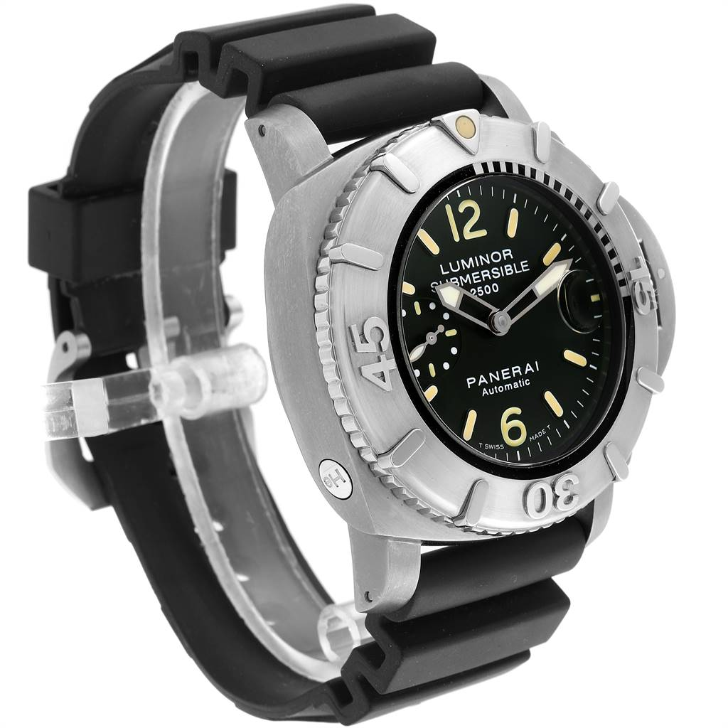 Panerai Luminor Submersible 2500m 47mm Mens Watch PAM00194 Box Papers SwissWatchExpo