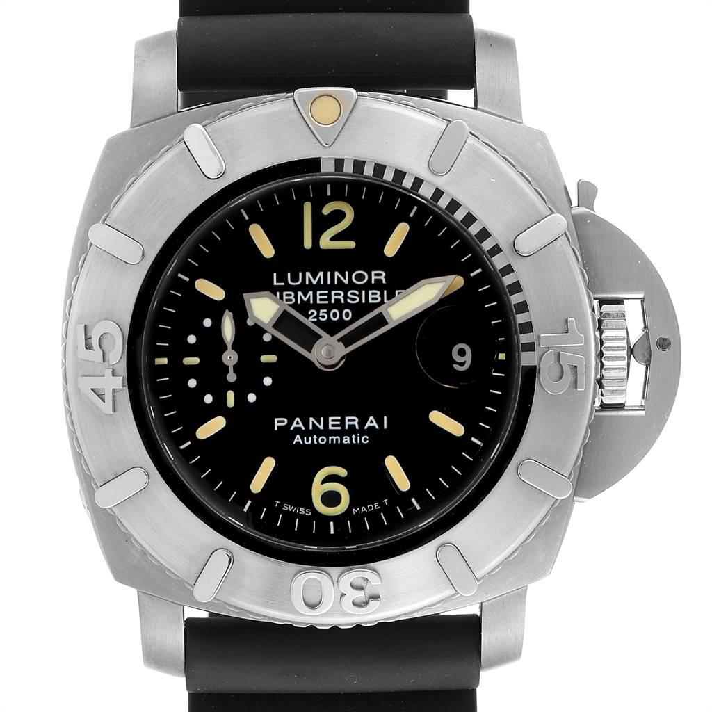 Panerai Luminor Submersible 2500m 47mm Mens Watch PAM00194 Box Papers