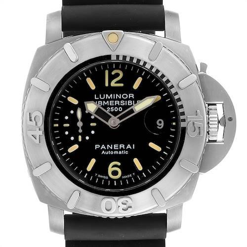Photo of Panerai Luminor Submersible 2500m 47mm Mens Watch PAM00194 Box Papers
