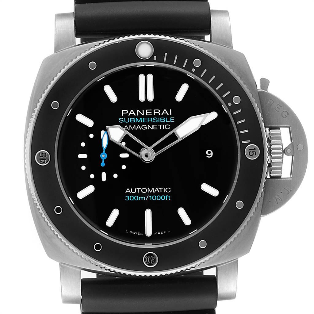 Panerai Luminor Submersible 1950 Amagnetic 3 Days Watch PAM01389 Unworn SwissWatchExpo