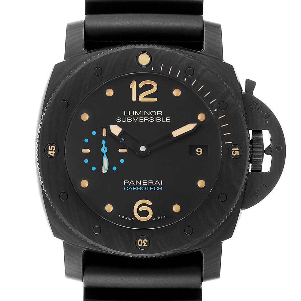 Panerai Luminor Submersible 1950 Carbotech 3 Days Mens Watch PAM00616